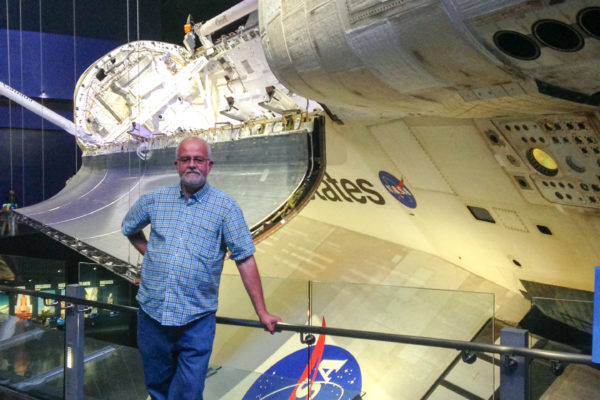 Roger with Space Shuttle 2014