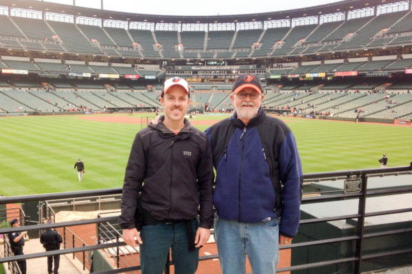 Roger and Graham, Camden Yards