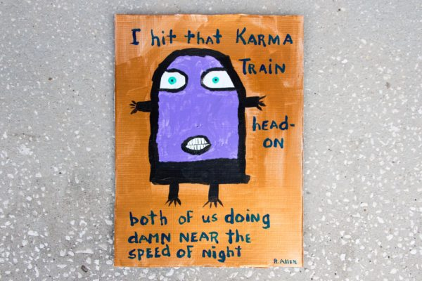 Roger Allen Karma Train Polecat