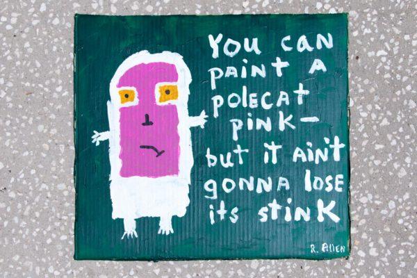 Roger Allen Pink Polecat