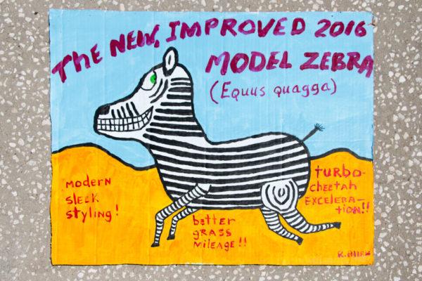 Roger Allen 2016 Zebra Model