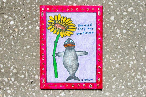 Roger Allen Blue-Eyed Carp and Sunflower