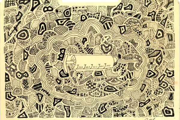 Roger Allen Syringe Doodle