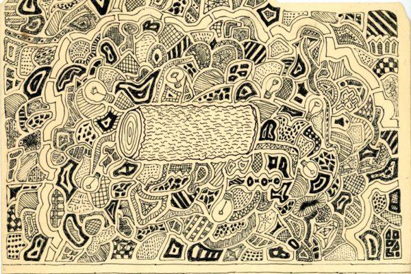 Roger Allen Log Doodle