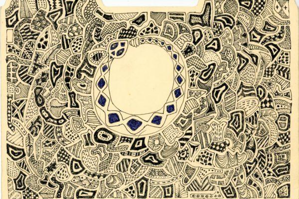 Roger Allen Snake Doodle