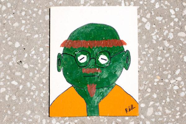 Roger Allen Green Face