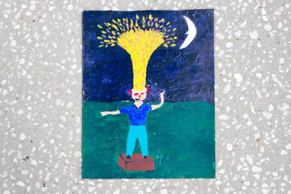 Roger Allen Yellow Head Geyser