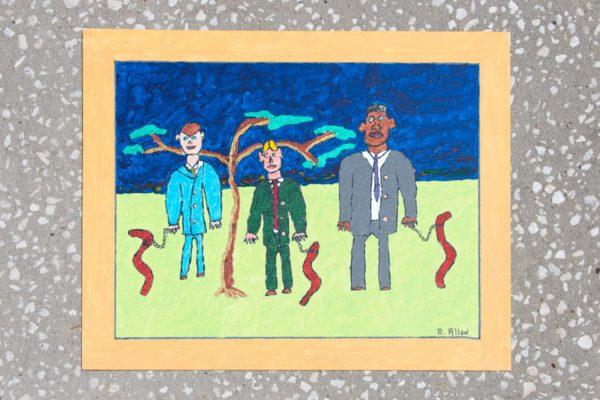 Roger Allen Men with Worms