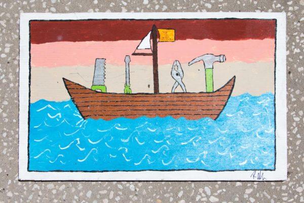 Roger Allen Tool Boat