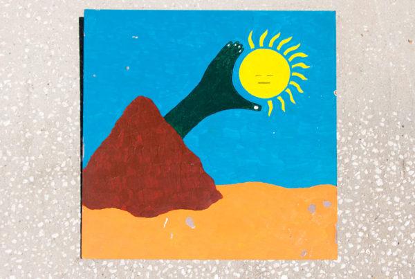 Roger Allen Mountain Grabbing Sun