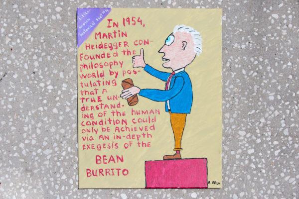 Roger Allen Heidegger Burrito