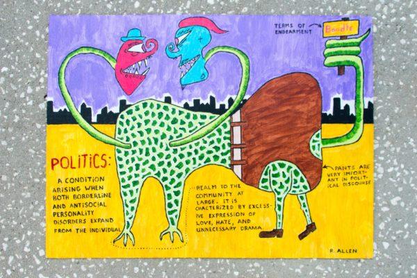 Roger Allen Lizard Politics