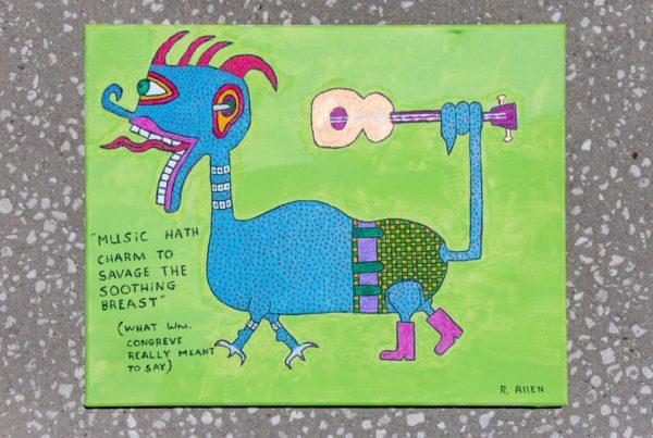 Roger Allen Lizard Musician