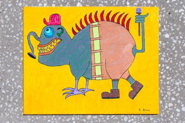 Roger Allen Lizard Painter