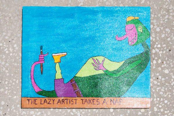 Roger Allen Lizard Lazy Artist
