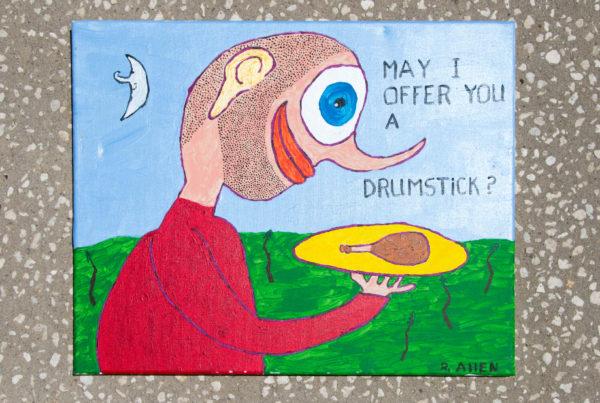 Roger Allen May I Offer You a Drumstick