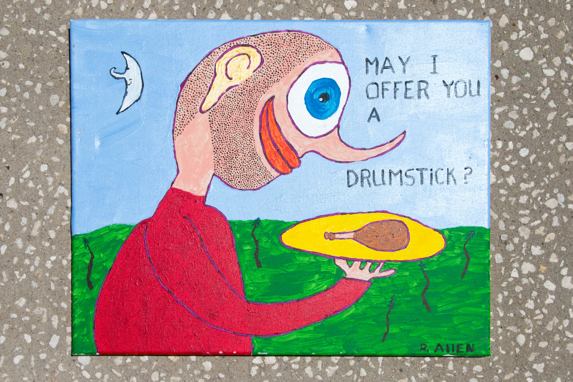 Roger Allen May I Offer You a Drumstick
