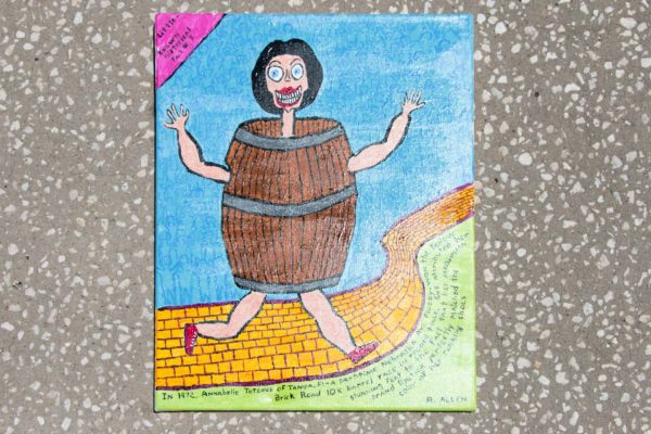 Roger Allen Barrel Yellow Brick
