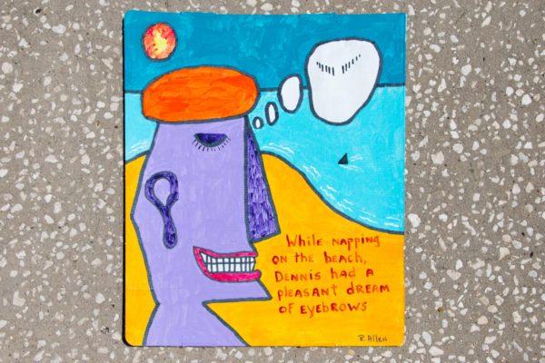 Roger Allen Dennis Eyebrows Dream