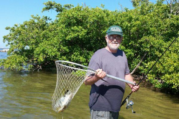 Roger fishing